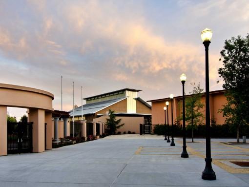 Sequoia High School Gymnasium W L Butler