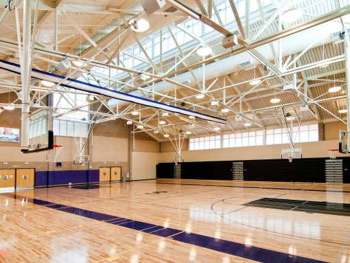 Sequoia High School Gymnasium W L Butler